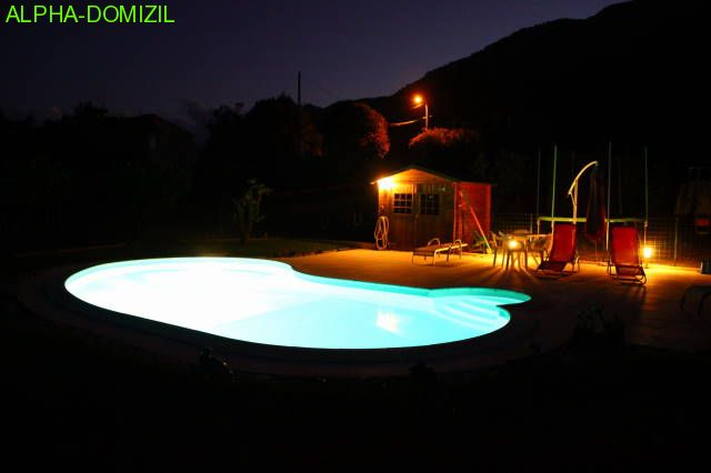 Pool by nigth